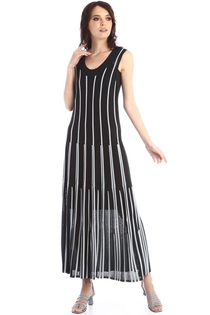 Long knit dress Intrend