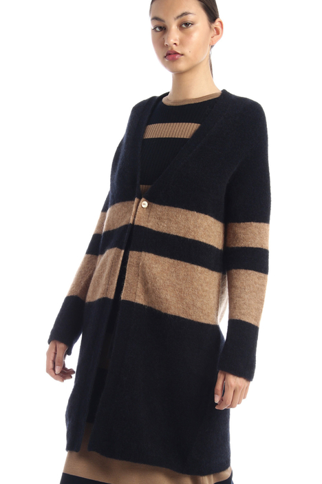 Mohair knit cardigan Intrend