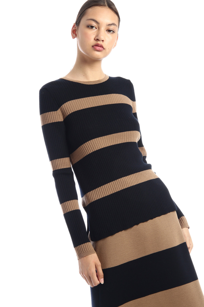 Wool knit jumper Intrend