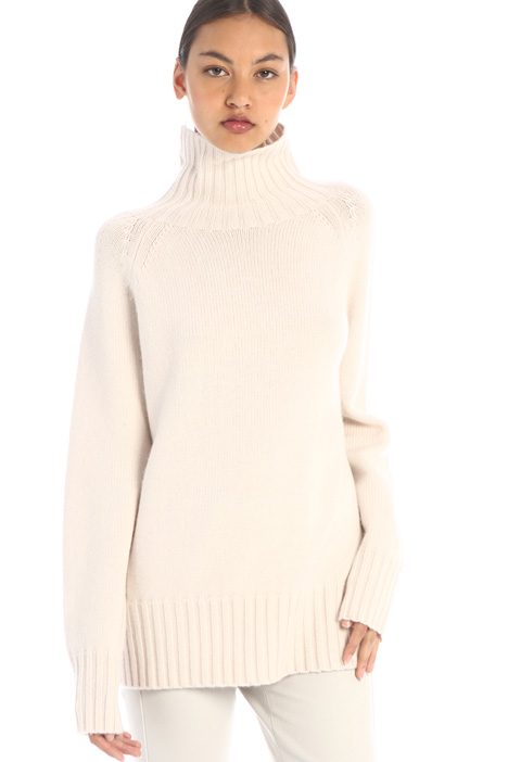 Wool and cashmere knit jumper Intrend