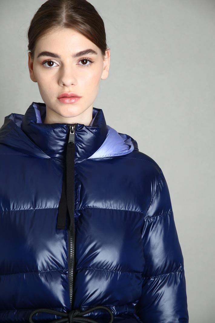 Drawstring puffer jacket Intrend