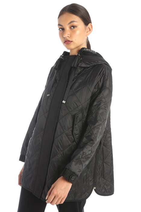Canvas down coat Intrend