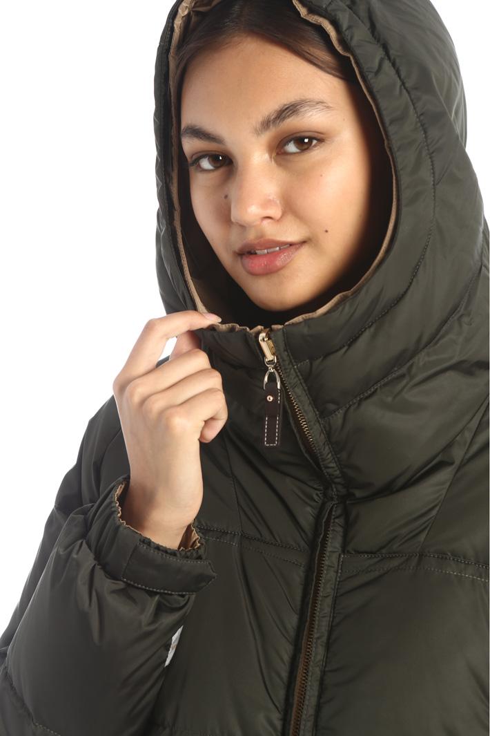 Reversible taffeta coat Intrend