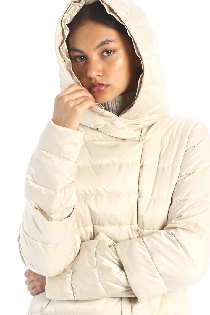 Reversible satin down jacket Intrend