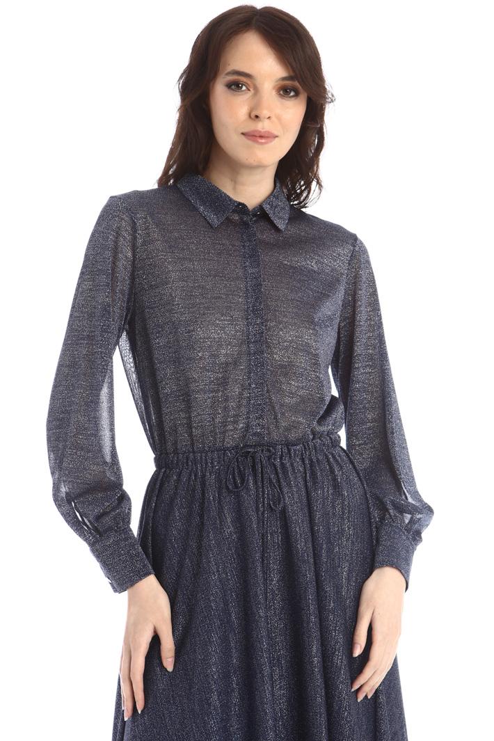 Lurex jersey dress Intrend