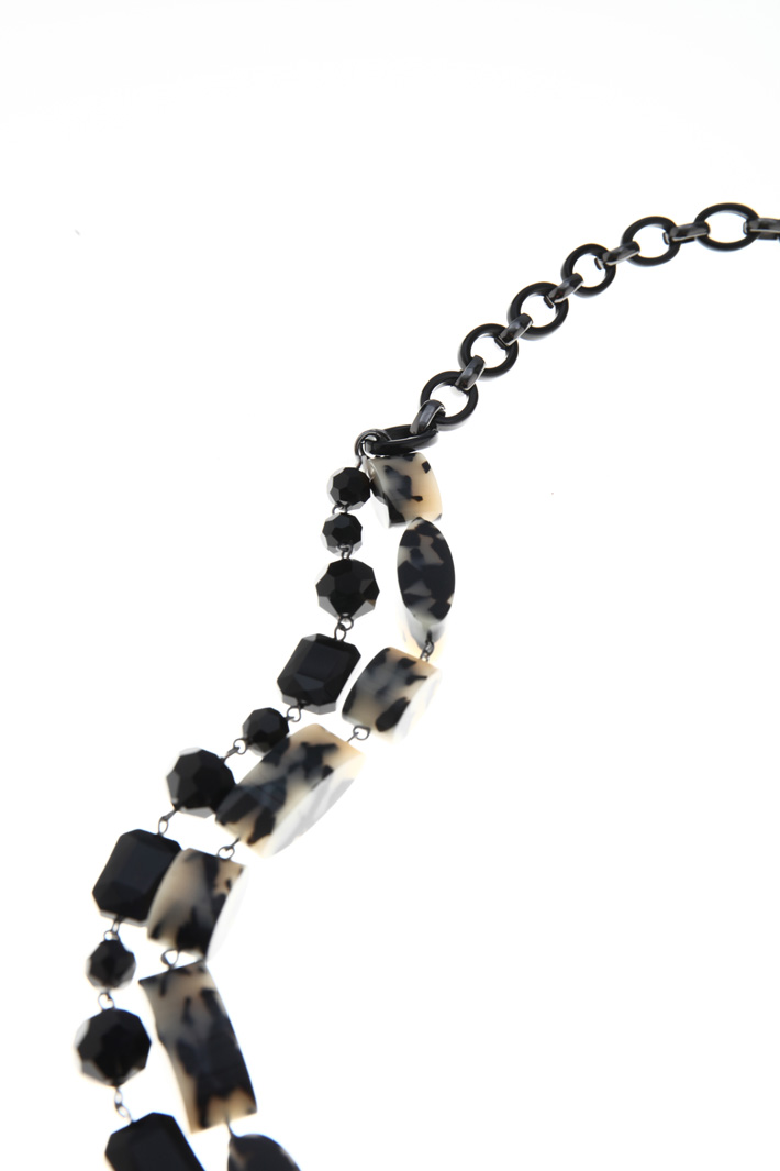 Long multi-row necklace Intrend