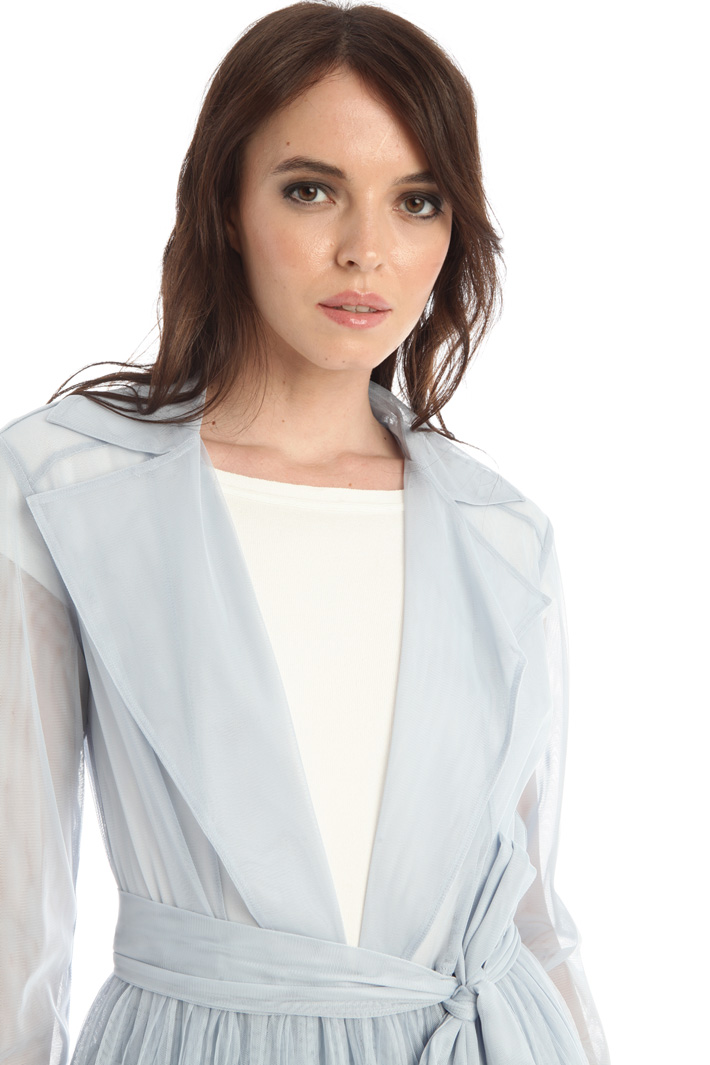 Tulle duster coat Intrend