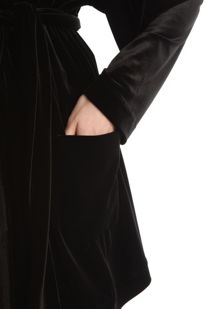 Velvet jersey jacket Intrend